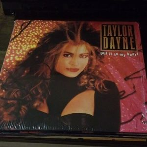 TAYLOR DAYNE TELL IT TO MY HEART LP RECORD